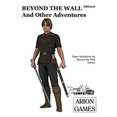 Paper Miniatures: Beyond the Wall and Other Adventures Set