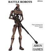 Paper Miniatures: Battle Robots Set
