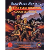 Star Fleet Battles: Module M - Star Fleet Marines SSD Book (Color)