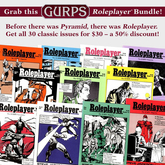 GURPS Roleplayer Bundle