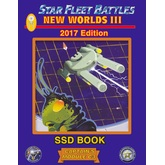 Star Fleet Battles: Module C3 – New Worlds III SSD Book (B&W) 2017