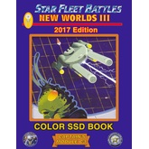 Star Fleet Battles: Module C3 – New Worlds III SSD Book (Color) 2017