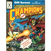 GM Screen - Champions (4th Edition)