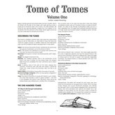 Tome of Tomes: Volume One