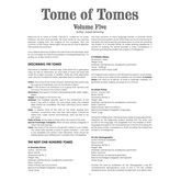 Tome of Tomes: Volume Five