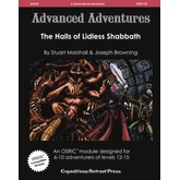 Advanced Adventures #33: The Halls of Lidless Shabbath