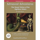 Advanced Adventures #35: The Desert Shrine of the Sightless Sisters