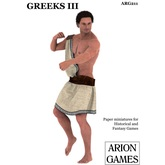 Paper Miniatures: Greeks III