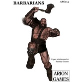 Paper Miniatures: Barbarians Set