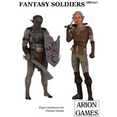 Paper Miniatures: Fantasy Soldiers Set