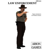 Paper Miniatures: Law Enforcement Set