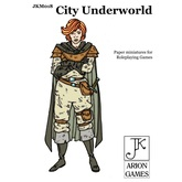 Paper Miniatures: John Kapsalis City Underworld