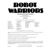 Robot Warriors (3rd Edition)