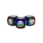 Rainbow Skull d6 Dice Set