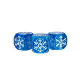 Snowflake d6 Dice Set