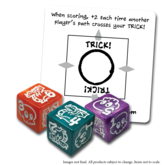 Deadly Doodles d6 Dice Set