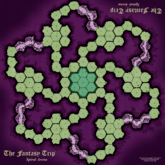 The Fantasy Trip Spiral Arena: Playmat Style A