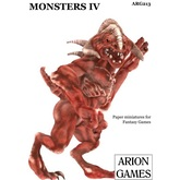 COPY OF Paper Miniatures: Monsters IV