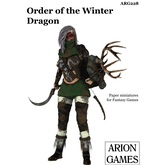 Paper Miniatures: Order of the Winter Dragon
