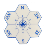 The Fantasy Trip Compass Rose