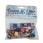 Puppy D6 Litter Dice Set