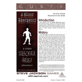 GURPS Classic: Black Ops: A Minor Emergency