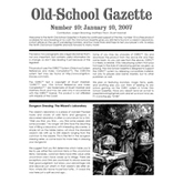 Old School Gazette #10