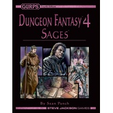 GURPS Dungeon Fantasy 4: Sages