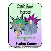Comic Book Heroes, Set 4, Mini-Game #34