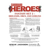 Cardboard Heroes: Fantasy Set 02 - Brigands, Orcs, and Goblins