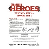 Cardboard Heroes: Fantasy Set 06 - Monsters I