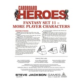 Cardboard Heroes: Fantasy Set 11 - More Player Characters