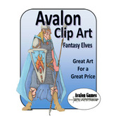 Avalon Clip Art, Fantasy Elves