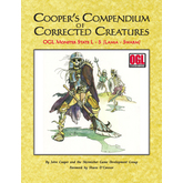 Cooper's Compendium of Corrected Creatures: OGL Monster Stats L – S