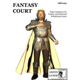 Paper Miniatures: Fantasy Court Set