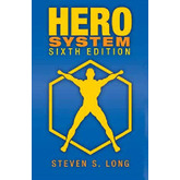 HERO System 6th Edition Core Book Character Pack For Hero Designer