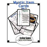 Mystic Item Cards, Set 3