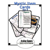 Mystic Item Cards, Set 5