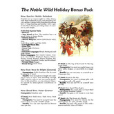 The Noble Wild Holiday Bonus Pack