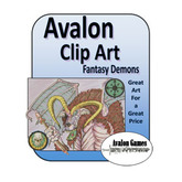 Avalon Clip Art, Demons