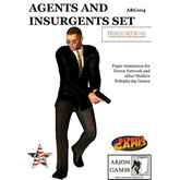 Paper Miniatures: Agents & Insurgents Set
