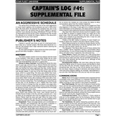 Captain's Log #41 Supplement