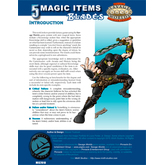 5 Magic Items: Blades