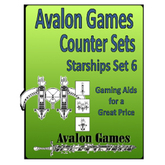 Avalon Counters, Starships Set #6