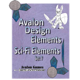 Avalon Design Elements, Sci-Fi Set 7