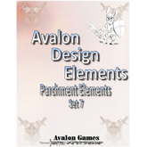 Avalon Design Elements, Parchment Set 7
