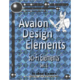 Avalon Design Elements, Sci-Fi #8