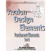 Avalon Design Elements, Parchment #8