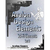 Avalon Design Elements, Sci-Fi Set 9