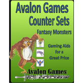 Avalon Counter Sets, Monsters Set #1